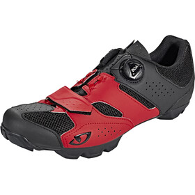 Giro Cylinder Schoenen Heren, dark red/black